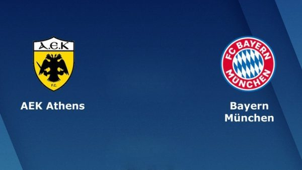 Nhận định Bayern Munich vs AEK Athens
