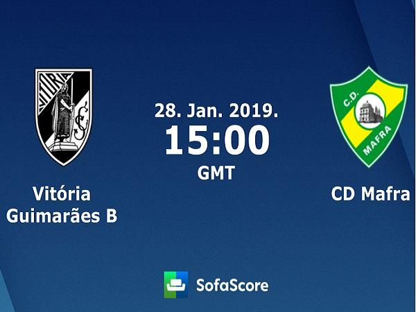 Nhận định Vitoria Guimaraes B vs Mafra