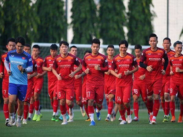 HLV Park Hang Seo chốt danh sách 23 cầu thủ đấu Malaysia sau ngày 3/10