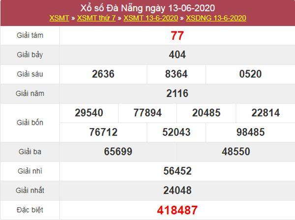 Thống kê XSDNG 17/6/2020 chốt KQXS Đà Nẵng thứ 4