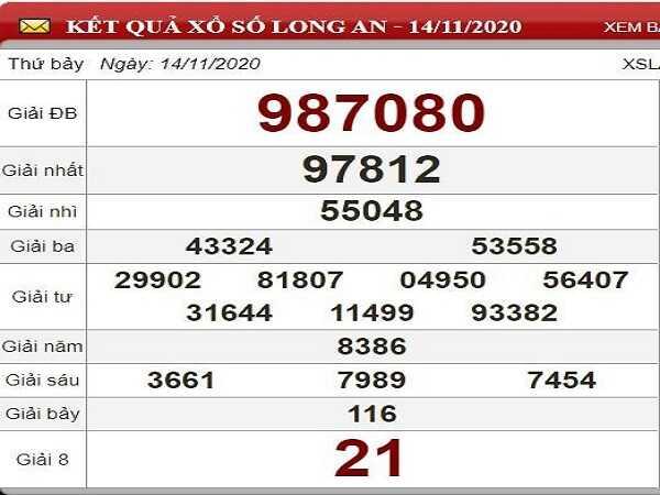 Nhận định KQXSLA ngày 21/11/2020- xổ số long an chuẩn