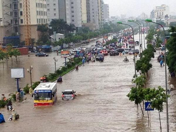 Mơ thấy lũ lụt cả thành phố đánh con gì?