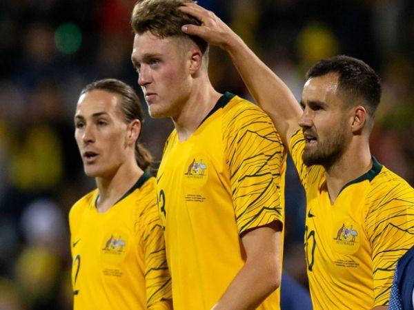 Bóng đá QT chiều 17/7: Australia khó đá vòng loại World Cup trên sân nhà