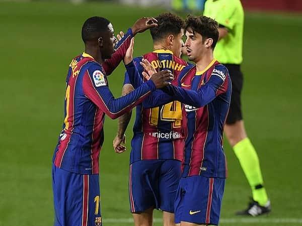 Barcelona chật vật giành 1 điểm trước Cadiz