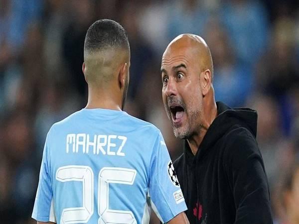 Tin Man City 16/9: HLV Pep Guardiola nổi cáu với Riyah Mahrez